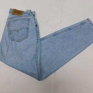 Levi's 14 Short Blue Denim Jeans 921 Tapered Orang